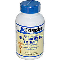 Зеленый чай (Green tea), Life Extension, 100 капсул