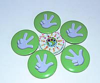 Значок сувенирный Фиксики зелёный