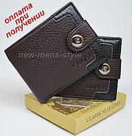 Мужской чоловічий кожаный кошелек портмоне бумажник GOOSI на подарок, фото 1