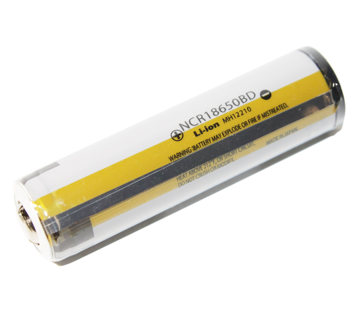 Аккумулятор 18650, 3400 mAh, Panasonic, NCR18650BD Protected, 3400mAh, 6.8A, 4.2/3.6/2.5V, перезаряжаемая
