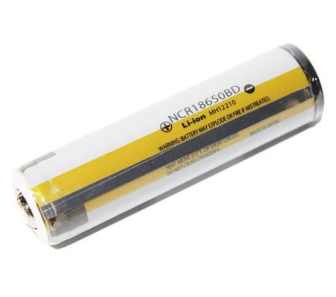 Аккумулятор 18650, 3400 mAh, Panasonic, NCR18650BD Protected, 3400mAh, 6.8A, 4.2/3.6/2.5V, перезаряжаемая, фото 2