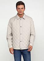 Куртка мужская GEOX цвет бежевый размер 60 арт M6220UT2204F5011