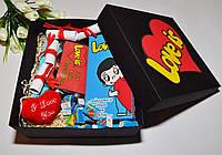 Большой подарочный набор для влюбленных Лав из (Love is)
