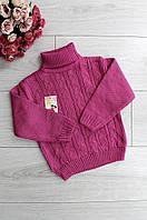 Детский свитер розовый 3279