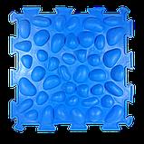 Массажный  коврик  с эффектом морской гальки Пазлы 1 элемент, фото 2