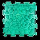 Массажный  коврик  с эффектом морской гальки Пазлы 1 элемент, фото 4