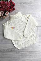 Детский свитер белый Nilcan 3282