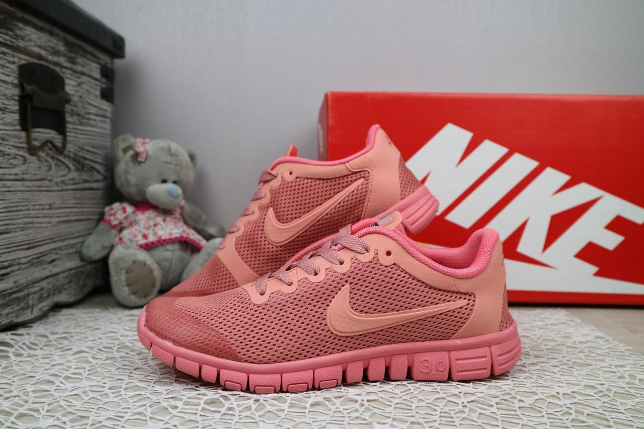 8427df3f Кроссовки G 7385 -3 (Nike Free Run 3.0) (лето, женские, текстиль ...