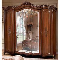 Шкаф 5-ти дверный Элиза СлонимМебель орех, фото 1