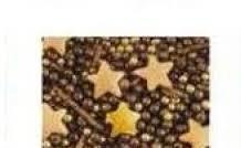 """Посыпка ТМ""""Украса""""Перламутровый микс звёзды золото"""" №9 7г (код 03911)"""