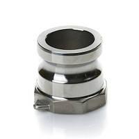 """Быстроразъёмное соединение Camlock 1 1/2"""" (под 40 рукав) тип A нерж. сталь"""