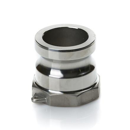 """Быстроразъёмное соединение Camlock 3/4"""" (под 20 рукав) тип A нерж. сталь"""