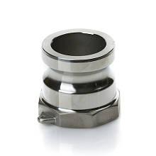 """Швидкороз'ємне з'єднання Camlock 2"""" (під 50 рукав) тип A нерж. сталь"""