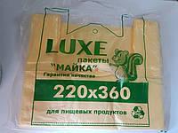 Полиэтиленовый пакет Майка люкс 220х360 без рисунка