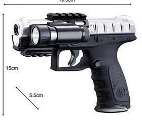 Пистолет Jungle Falcons стреляет водяными пулями, с фонариком