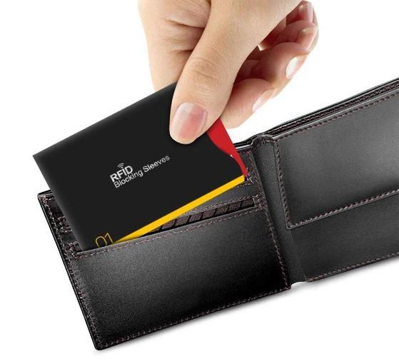 14 шт./компл. RFID блокирующий чехол от кражи для сим-карты кредитной карты, биометрического паспорта, права