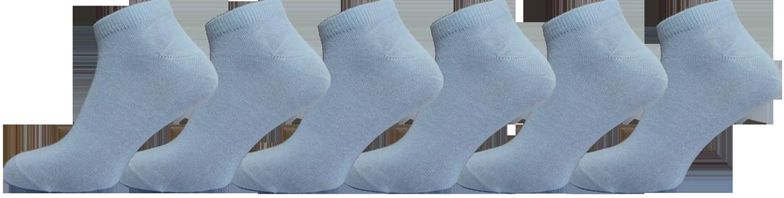 """Жіночі шкарпетки снікерс білі""""lomani"""""""