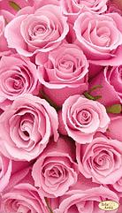 Схема для вышивания бисером Розовые сны