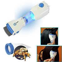Электрическая расческа для удаления вшей , Устройство для вычесывания блох и вшей у людей и животных