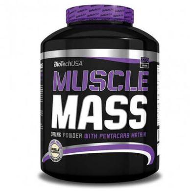 Гейнер BioTech - Muscle Mass (2270 грамм)