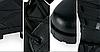 Черные кожа зам армейские ботинки берцы американки рыхленки MilTec JUNGLE копия, фото 3