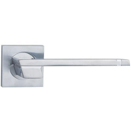 Ручка дверная Siba Fermo Z38 0 05 07 хром матовый/хром