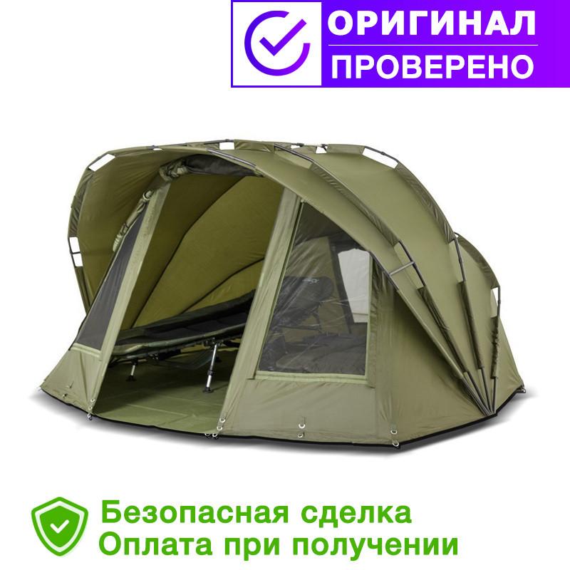 Палатка для рыбалки, рыболовная и туристическая палатка EXP 3-mann Bivvy Ranger+Зимнее покрытие для палатки