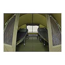 Палатка для рыбалки, рыболовная и туристическая палатка EXP 3-mann Bivvy Ranger+Зимнее покрытие для палатки, фото 3