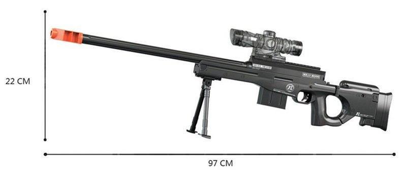 Винтовка МК13 стреляет водяными пулями HC236843