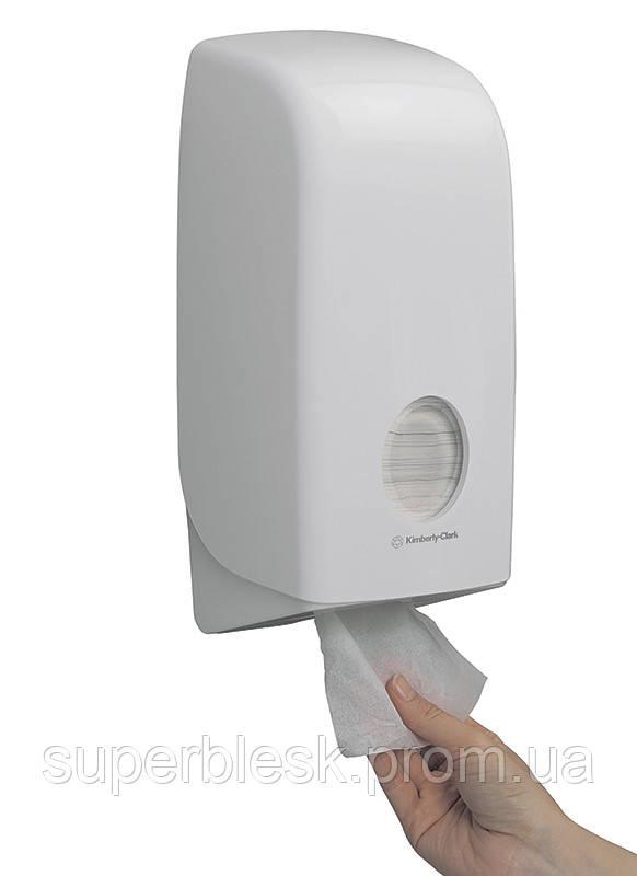 Диспенсер Aquarius для листовой туалетной бумаги