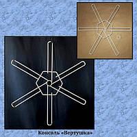 Консоль Вертушка используется, как дополнительный навесной блок консолей для стойки
