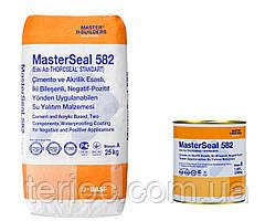 MasterSeal 582 - двухкомпонентный состав на цементно-акриловой основе, используемый для гидроизоляции, 27 кг