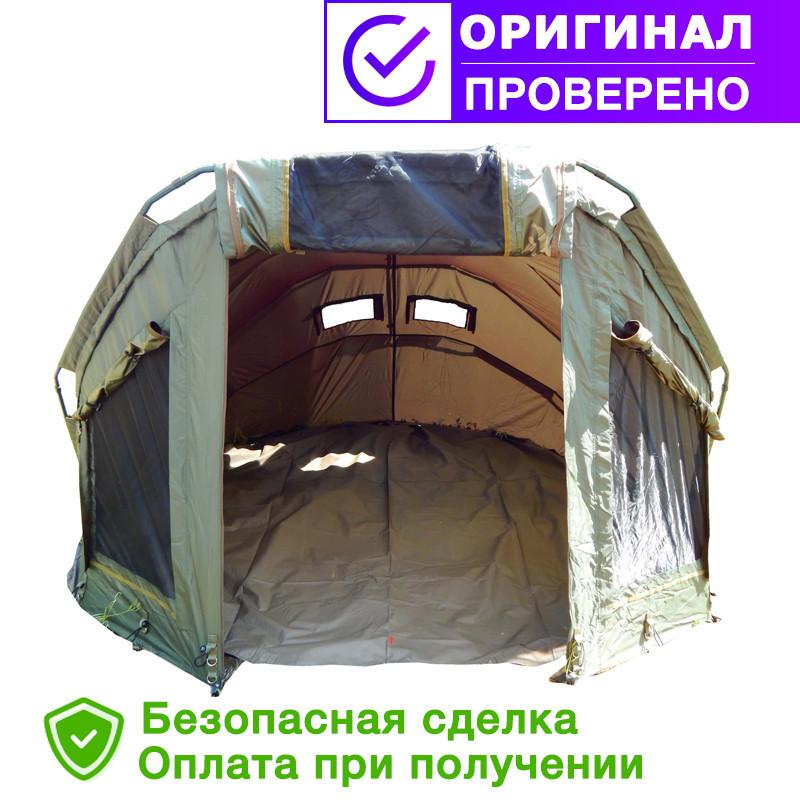 Палатка для рыбалки, рыболовная и туристическая палатка Ranger EXP 2-MAN Нigh + Зимнее покрытие для палатки