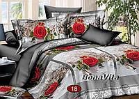 Белье двухспальное 100% хлопок Бязь-Голд Украина, фото 1