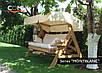 Мягкая часть для садовой качели Montblanc ELIT, фото 4