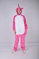 Пижама-кигуруми Единорог L 170 -180 см Розовый (kg-0000003) 92717ebbaa6c6