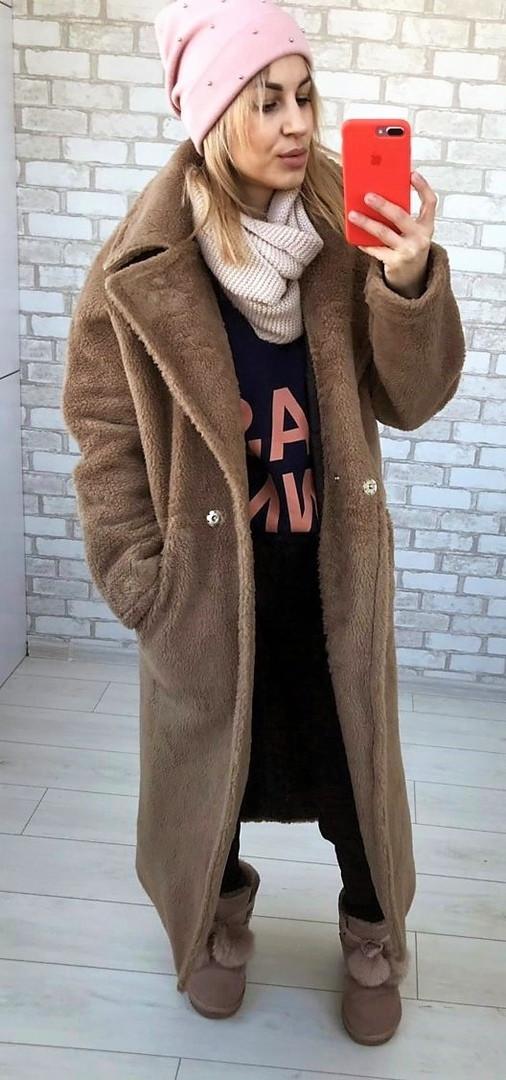 Женская стильная шубка МС0001