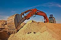 Доставка речного песка автотранспортом по Украине