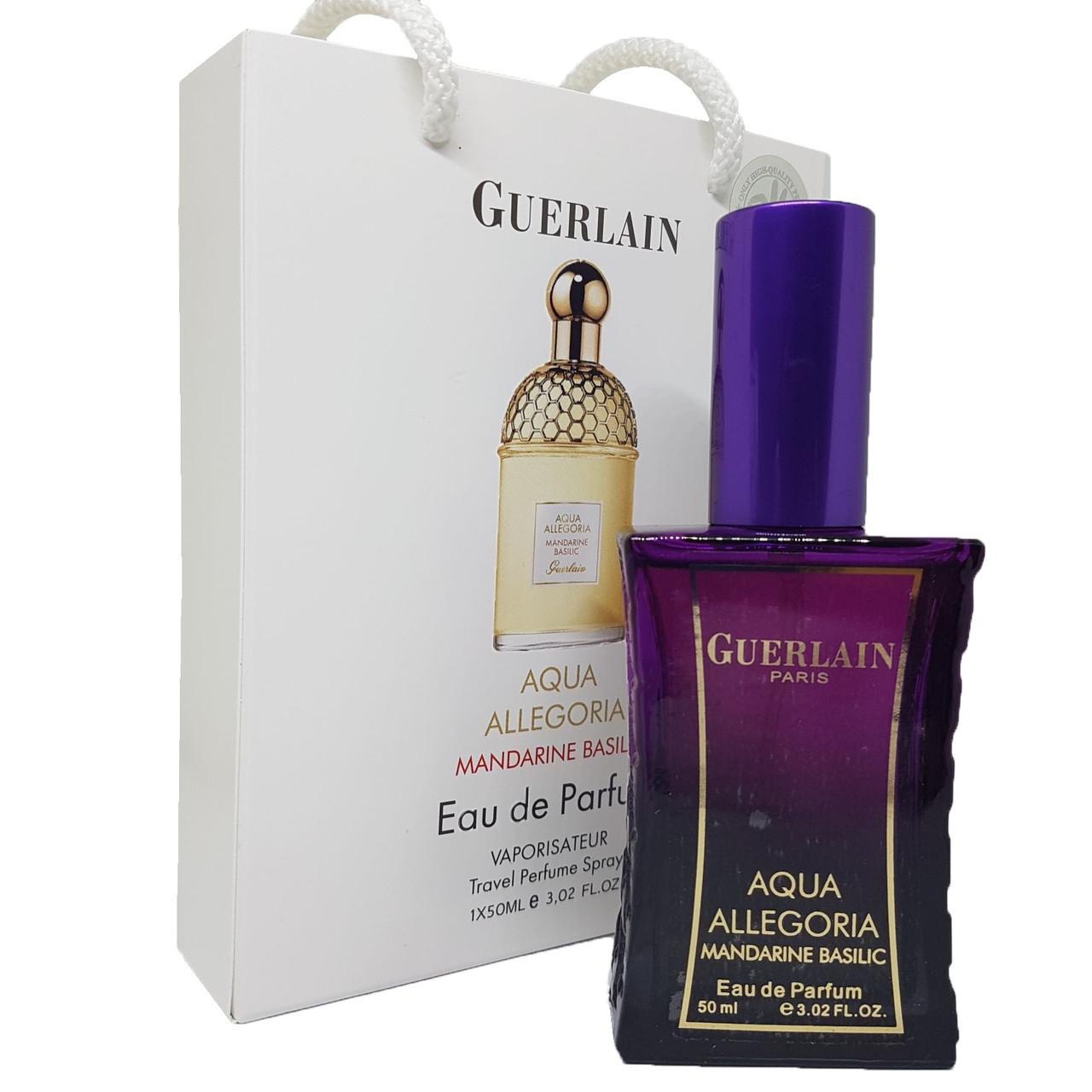 Мини парфюм Guerlain Aqua Allegoria Mandarine Basilic 50 мл