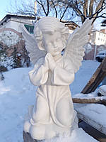 Ангелы из мрамора. Скульптура Ангелочка №35 из мрамора