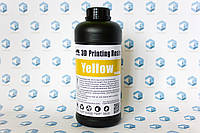 Фотополимерная смола Wanhao 405nm UV resin, 1л желтый