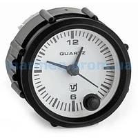 Часы кварцевые для лодки, белый циферблат.