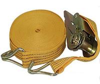 Стяжной ремень 12м х 50мм, 3т с храповым механизмом ST-212