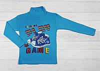 """Детский джемпер """"Play game"""" для мальчиков 4,5,6,7,8 лет, 100% хлопок 5489612730443"""