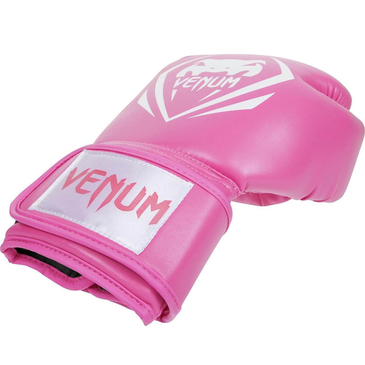 Перчатки боксерские Venum Contender pink 12oz