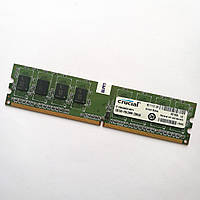 Оперативная память Crucial DDR2 1Gb 800MHz PC2 6400U CL6 (CT12864AA800.M8FH) Б/У, фото 1