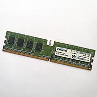Оперативная память Crucial DDR2 1Gb 800MHz PC2 6400U CL6 (CT12864AA800.M8FH) Б/У
