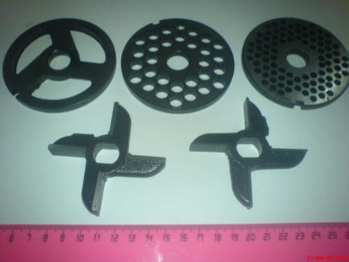 Комплект ножей и решеток к мясорубке МИМ 600 (Беларусь)
