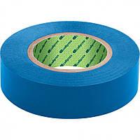 Изолента ПВХ 15 мм х 10 м синяя Сибртех 88787