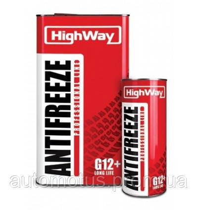 Антифриз HIGHWAY  -40  LongLife G12+  красный  (канистра)  5л